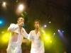 Fabio trummer e Ortinho em show no Recife Antigo