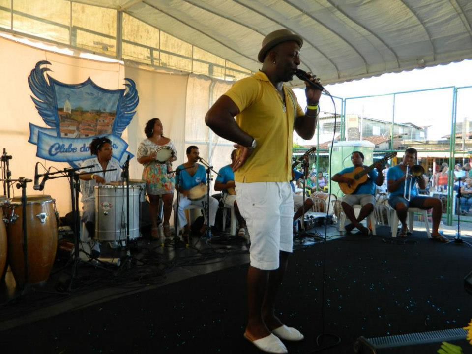 O samba rolou solto na 1° edição do  Clube do Samba