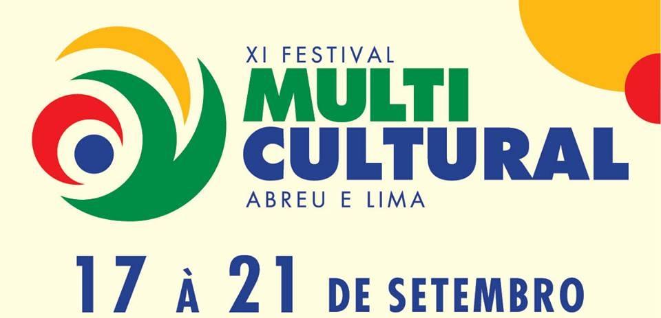 Divulgada a programação oficial do XI Festival Multicultural de Abreu e Lima