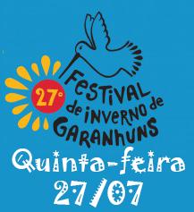 Programação Festival de Inverno de Garanhuns 2017 – Dia 27/07, Quinta-Feira