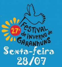 Programação Festival de Inverno de Garanhuns – Dia 28/07, Sexta-feira