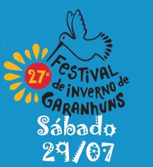 Programação Festival de Inverno de Garanhuns – Dia 29/07 Sábado