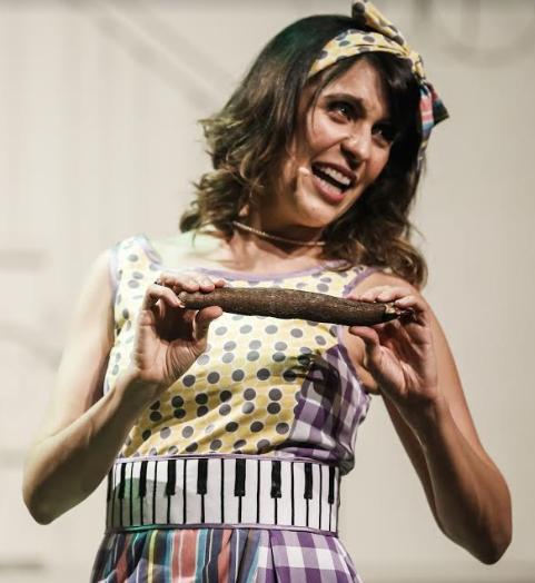 Carol Levy retorna com o Conto de Casa no Teatro Luiz Mendonça – 04 e 05 de Novembro