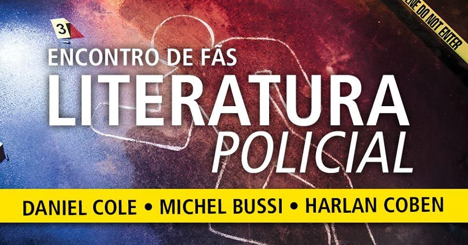 Encontro de fãs – Literatura Policial