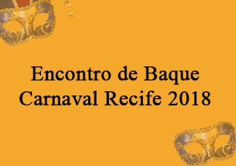 Encontro de Baque, nesta quarta 31/01.