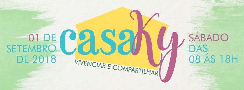 """""""CasaKy, vivenciar e compartilhar"""": um evento repleto de atividades culturais e contato com a natureza."""