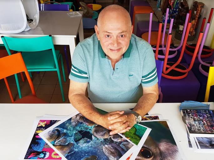 """Um olhar criativo para todos é proposta de """"Workshop de criatividade"""" do multiartista Carlos Vasconcelos"""