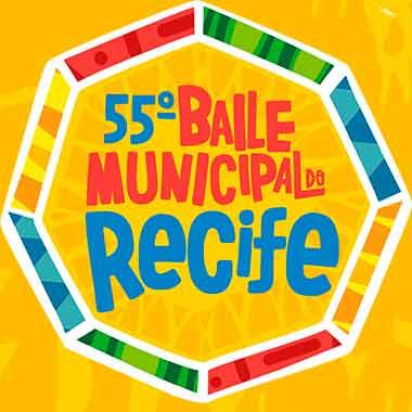 55º Baile Municipal do Recife, neste sábado 23 de fevereiro!