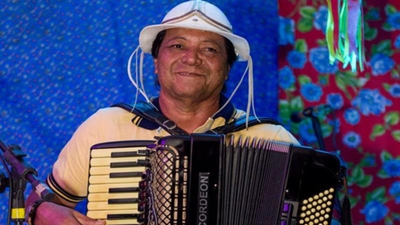 Edson Rangel e Raminho do Acordeon no Forró-Brega do Clube das Pás, hoje a partir das 17h.