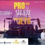 Projeto Festival Sambar, no dia 28/07, venha sambar a bordo de um catamarã.