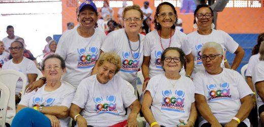Clube das Pás promove baile de encerramento da 21° edição dos Jogos Solidários da Pessoa Idosa