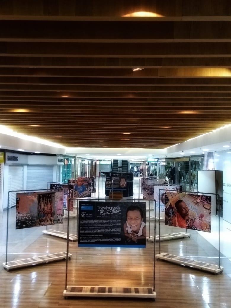 Exposição Transformação do Olhar – Mostra artística e campanha em prol das Aldeias Infantis, nesta quinta-feira, dia 19, a partir das 19h.
