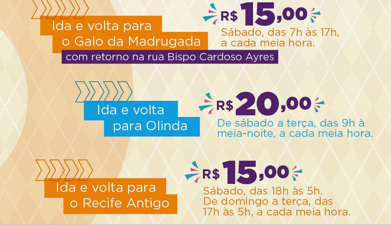 Expresso da Folia sai do Camará Shopping e leva os foliões camaragibenses aos focos da folia em Recife e Olinda