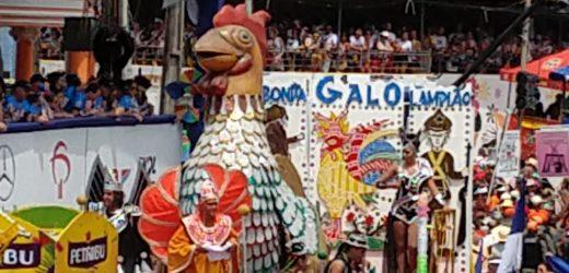 Galo da Madrugada faz desfile memorável e passa da casa de 1 milhão de foliões.