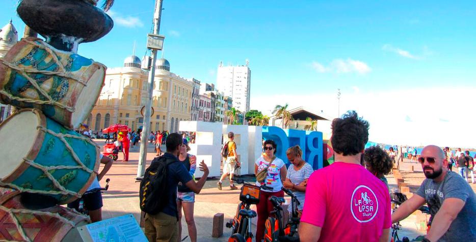 Bike tour, Recife dos Carnavais, acontece neste sábado (15) no Paço do Frevo, Praça do Arsenal