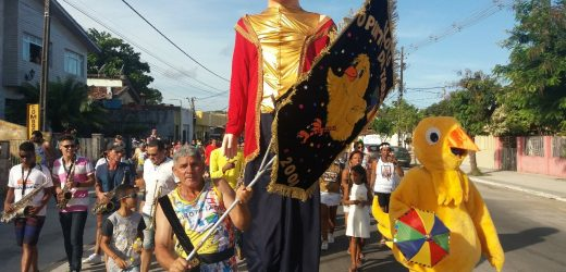 O bloco carnavalesco O Pinto da Tarde sai pelas ruas no domingo (16)