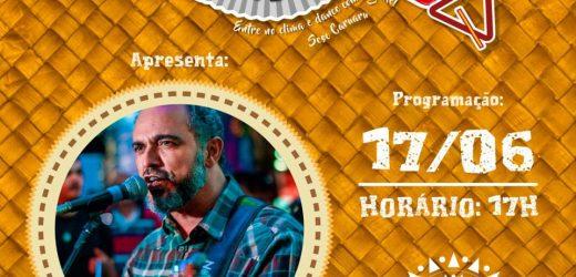 Músico pernambucano Valdir Santos fará live solidária nesta quarta-feira 17/06.