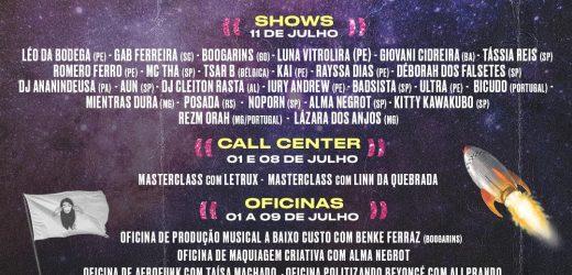 De 01 a 11 de Julho ocorre o Festival online Coquetel Molotov .exe. Confira a programaçao completa.