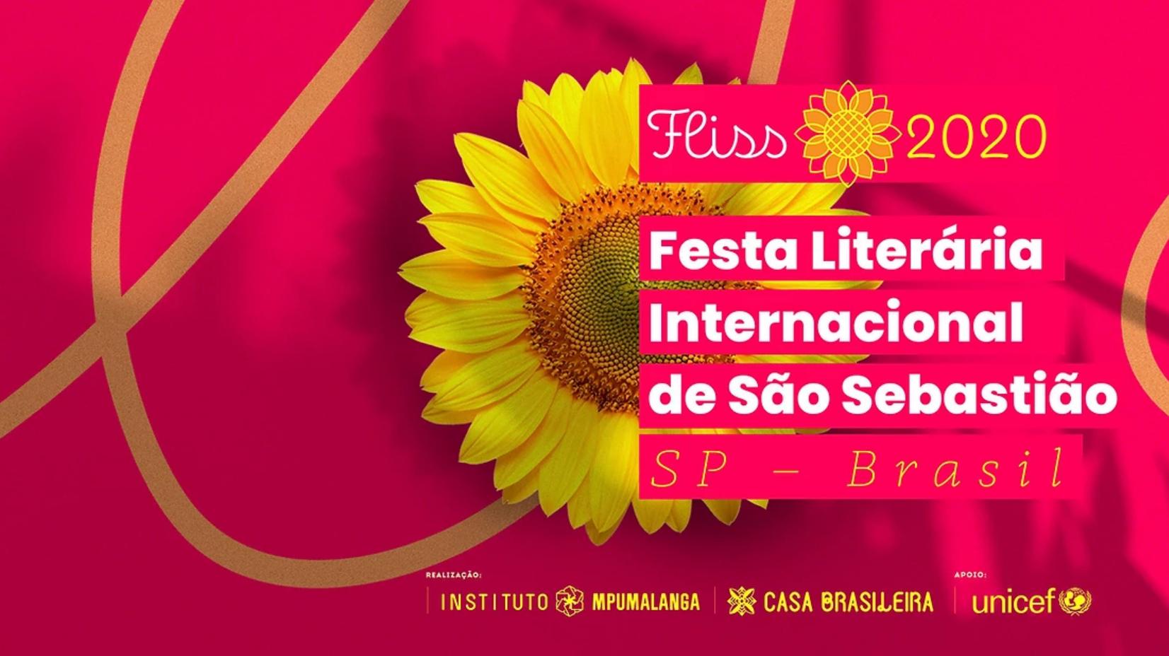 Festa literária ONLINE acontece do dia 27 a 30 de agosto. Festa Literária Internacional de São Sebastião – FLISS 2020