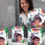 Sábado 7 de novembro, Priscilla Pontes lança seu segundo livro 'A Fada Roqueira'.